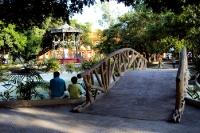 Botanischer Garten / Jardim Botânico in Manaus am Rio de Negro, Brasilien