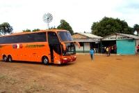 Unterwegs mit einem brasilianischen Überlandbus