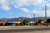 Einsame Gegend auf der Fahrt von Belém nach Fortaleza in Brasilien