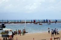 Strand von Porto de Galinhas bei Recife, Brasilien