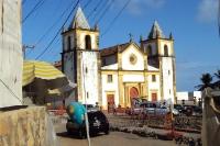 Kirche in der brasilianischen Stadt Olinda im Bundesstaat Pernambuco