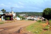 Oiapoque im Bundesstaat Amapa in Brasilien, am Grenzfluss Río Oiapoque (zu Französisch-Guyana)