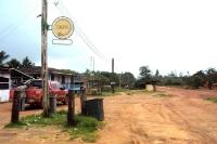 kurzes Päuschen an der Straße von Oiapoque nach Macapa in Brasilien