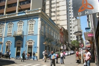 Stadtzentrum von Porto Alegre, Bundesstaat Rio Grande do Sul, Brasilien