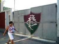 Eingangstor des Fluminense FC in Rio