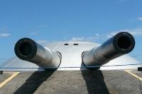 Feuerkraft aus allen Rohren in Brasilien ... Historische Geschütze