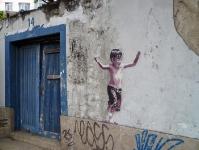 Wandmalerei in Rio de Janeiro