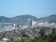 Zentrum und Favelas in Rio de Janeiro