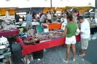 Trödelmarkt im Stadtzentrum von Rio de Janeiro