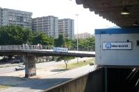 Metrostation (U-Bahn-Linie 4) Maracana in Rio de Janeiro