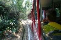 Corcovado-Bahn in Rio de Janeiro im Tijuca-Nationalpark