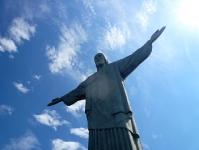 Christus-Statue auf dem Corcovado in Rio