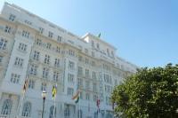 Das Copacabana Palace in Rio de Janeiro