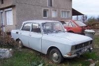 ein Fahrzeug in der bulgarischen Ortschaft Petrovo