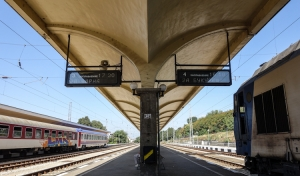 Bahnhof in Ruse (Bulgarien)