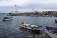 Hafen von Tsarevo am Schwarzen Meer
