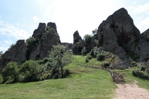 Felsenlandschaft im Nordwesten Bulgariens