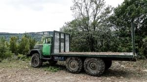 LKW bei Veliko Tarnovo