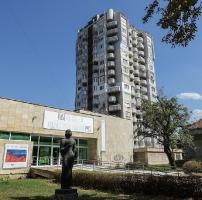 Plattenbauten in Ruse