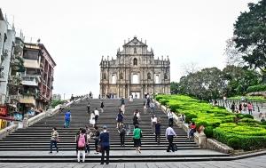 Stadtansichten von Macau Macao