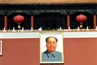 Portrait von Mao Tse Tung in Peking