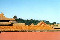 Tempel in der Verbotenen Stadt in Peking / Beijing