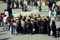 Touristen in Peking