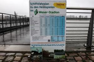 Hafengebiet an der Waterfront Bremen