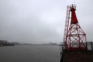 Werftinsel auf der Weser