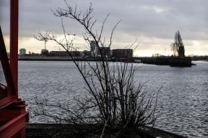Werftinsel in der Weser