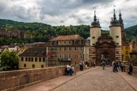 Schloss Heidelberg und Alte Brücke