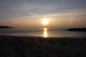 Sonnenuntergang bei Wustrow