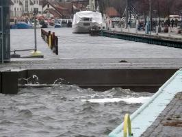 Sturm in Greifswald