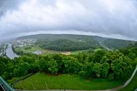 Blick auf die Donau bei bei Kelheim