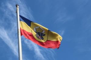 Fahne von Mecklenburg