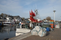 Hafen von Vitte auf Hiddensee