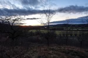 Landschaft bei Weißenfels