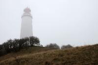 Leuchtturm bei Kloster auf der Ostseeinsel Hiddensee