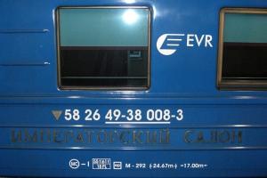 Nachtzug von Tallinn nach Moskau