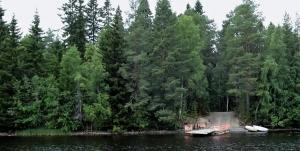 Insel Karhu in Finnland