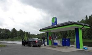 Tankstelle in Finnland