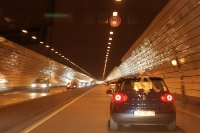 In einem Tunnel in Lyon