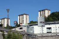 Wohngebiet in Lyon