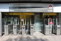 Metrostation in Lyon