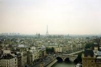 Blick auf Paris, Sommer 1991