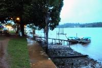 St. George de l'Oiapoque am Rio Oiapoque, Grenzfluss zwischen Brasilien und Französisch-Guyana