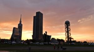 Abendhimmel in Batumi