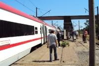 Zugfahrt von Batumi nach Tbilisi in Georgien