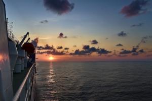 Mit dem Schiff auf dem Schwarzen Meer