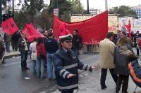 Finanzkrise in Griechenland: Demonstration in der Hauptstadt Athen